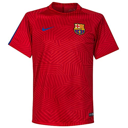 Nike Barcelona Training Top (Medium) Red
