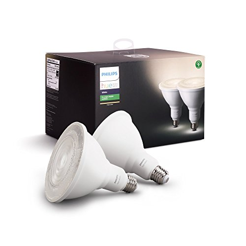 (Philips Outdoor Hue White PAR-38 Smart LED Bulb (2-Pack) (476820) White - New )