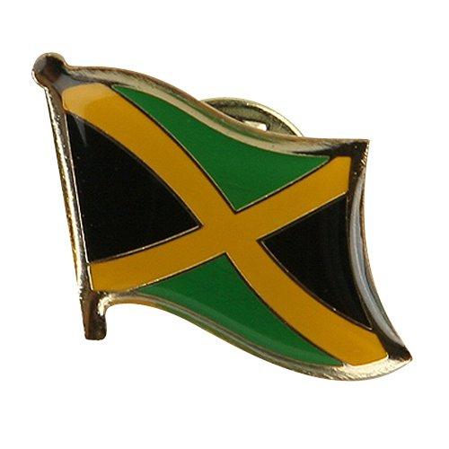 - Rasta Flag Lapel Pin - Jamaica W03S64C