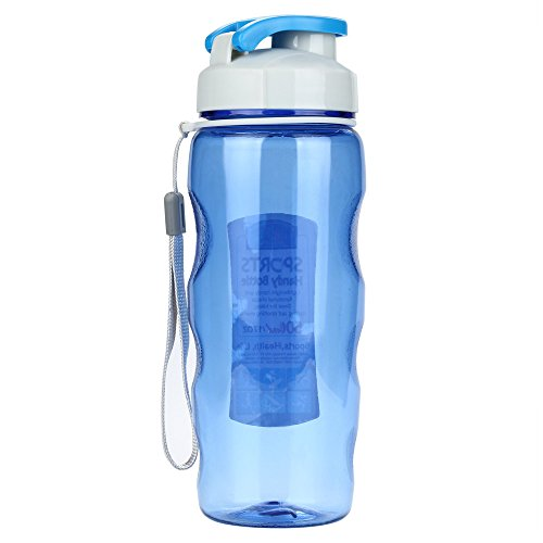 Collapsible Water Bottle, Reuseable BPA Free Silicone Foldable Water Bottles for Travel Gym Camping Hiking, Portable Leak
