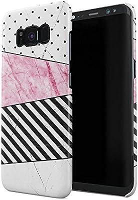Amazon.com: Carcasa de plástico duro para Samsung Galaxy S8 ...