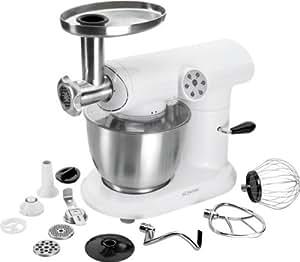 Bomann KM 369 CB - Robot de cocina (Acero inoxidable, Color blanco, 400 mm, 350 mm, 234 mm, 1000 W, 220-240 V, 50 Hz)