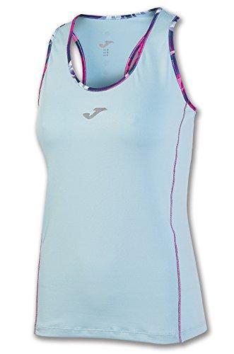 Joma - Camiseta tropical celeste s/m para mujer