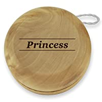 Dimension 9 Princess Classic Wood Yoyo with Laser Engraving