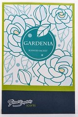 Floral Simplicity 6 Pack Gardenia Scented Sachets