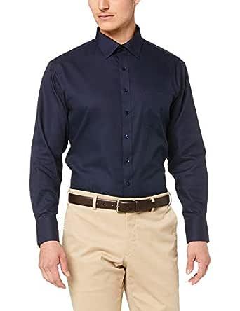 Van Heusen Euro Tailored Fit Business Shirt, Navy, 37 82