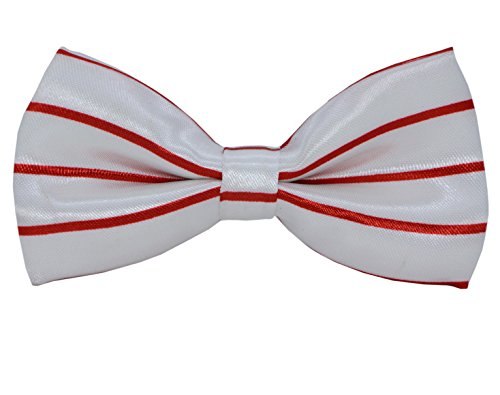 SYAYA Boy's Stripe Bow Tie, Fashion Adjutable Pre Bowtie for Child