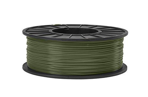 (ABS 3D Filament 3MM Diameter -Olive Green)