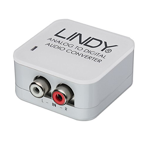 Lindy Analog Stereo to SPDIF Digital Audio Converter (70409)