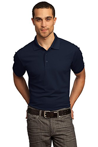 OGIO - Caliber 2.0 Polo, Navy, Large (Jacquard Polo Golf Shirt)