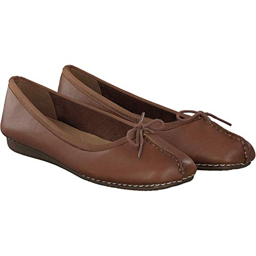 Clarks Femme Ballerines Freckle Marron Ice UxAwrUq