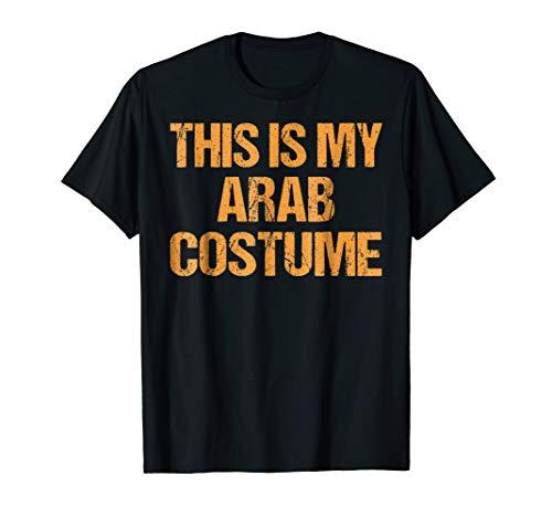 Arab Halloween Shirt Easy Lazy Last Minute Costume