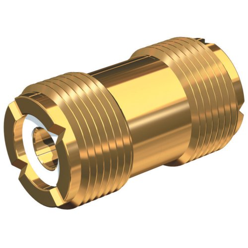 SHAKESPEARE SHA-PL-258-G / Gold Plated Barrel Connector for PL-259