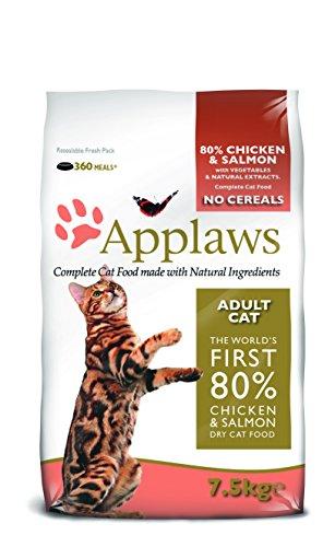 Applaws Katze, Huhn mit Lamm, Trockenfutter, 1er Pack (1 x 7.5 kg)