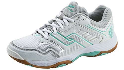 PRO TOUCH Ind Shoe. Rebel W WHITE/GREY/TURQUOISE Yv4cou03wN