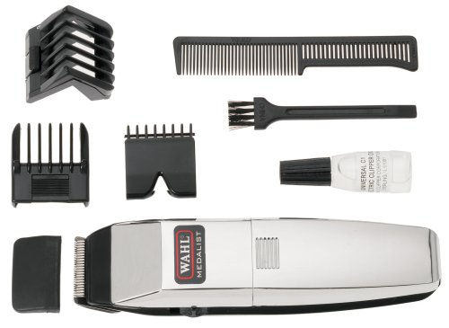 new wahl medalist cordless battery operated hair beard trimmer clipper chrome uk 43917553719 ebay. Black Bedroom Furniture Sets. Home Design Ideas