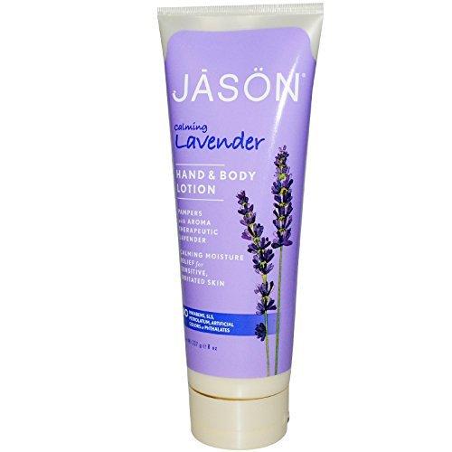 Jason Natural, Hand & Body Lotion, Calming Lavender, 8 oz  -
