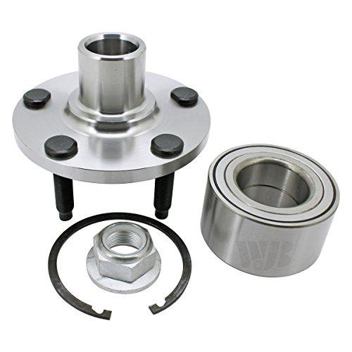 WJB WA518517 Front Hub Assembly/Wheel Bearing Module (Cross Reference: Moog 518517 / SKF BR930676K)