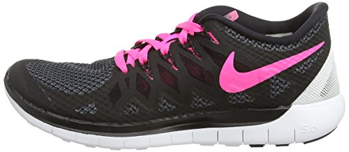 Free Scarpe Corsa white Pow Wmns black 0 Nero black pink 5 Donna Da Nike 1CYw5xIqw