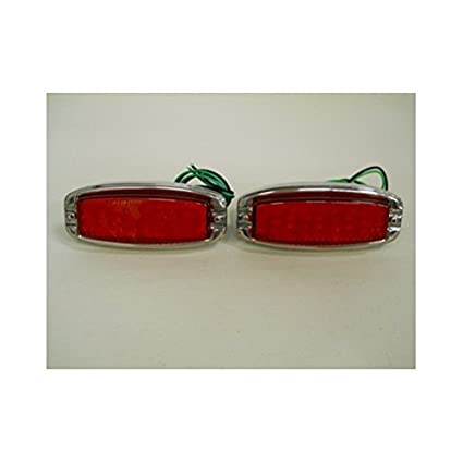 United Pacific 1941-1948 Chevy LED Stop Turn Signal Tail Light  Kits/Stainless Steel Bezel