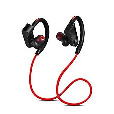 K98 auriculares Bluetooth inalámbrico auriculares deporte auriculares con micrófono suave ganchos de oreja HD impermeable con