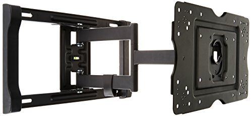 AmazonBasics Heavy-Duty, Full Motion Articulating TV Wall Mount for 32-inch to 80-inch LED, LCD, Flat Screen TVs (Best Swivel Tv Wall Mount)