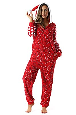 #followme Adult Christmas Onesie for Women/Jumpsuit One-Piece Pajamas