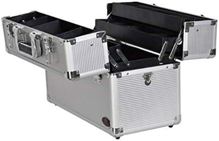 HLD 電気技師ハードウェアマルチレイヤ折りたたみダブルオープンストレージボックス修理工ツールボックス車の盗難防止ロックストレージボックス ツールボックス