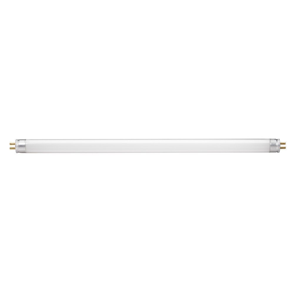 Warm White F8T5//WW 8W T5 12-Inch 3000K Fluorescent Light Bulbs Pack Of 8