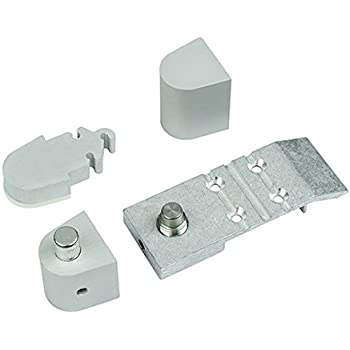 Offset Pivot Left Hand In Aluminum Finish Durable Commercial