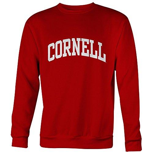 Ivysport Cornell University Classic Adult Crewneck Sweatshirt with Classic Logo, Sweatshirt