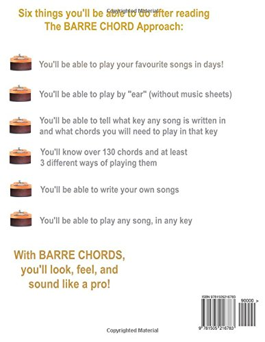 The Barre Chord Approach: Teach yourself to play Guitar in 30 days ...