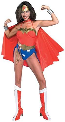 Rubie's Women's DC Wonder Woman Costume, Multi, -