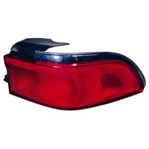 Go-Parts ª OE Replacement for 1995-1997 Mercury Grand Marquis Rear Tail Light Lamp Assembly/Lens/Cover - Left (Driver) Side F5MY 13405 A FO2800145 for Mercury Grand Marquis