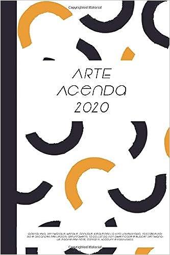 Arte Agenda 2020: Giornaliera, settimanale, mensile, annuale ...