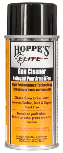 Elite Gun Cleaner - Hoppe's Elite Aerosol Gun Cleaner Bottle, 4-Ounce