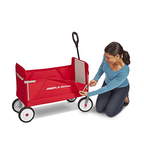 41nWXfsvusL - Radio Flyer 3-in-1 EZ Folding Wagon for kids and cargo