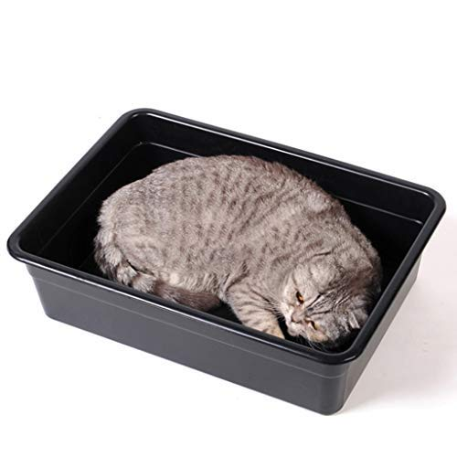 Pet Supplies Cat Toilet Spacious Interior, Toilet Filter Large Size Non Stick and Never Bend, Dog Litter Boxes Charcoal Filter Deep, Cat Litter Pan Easy to Clean Toilet for Your Cat