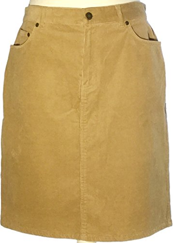Jones New York Sport Skirt Corduroy Expedition Peanut Size 12 Large (12)