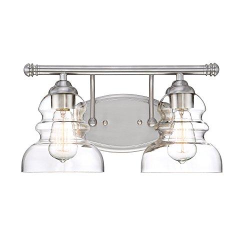 Millennium Lighting 7332-SN Millennium:Two Light Vanity 2-Light Bath Vanity In Satin Nickel