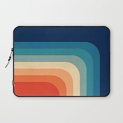 - Retro 70s Color Palette III Laptop Sleeve Modern Laptop Protective Case Sleeve Notebook Laptop Bag Reinforced Bottom for Macbook Air 13.3 Christmas Birthday Back to School Gifts