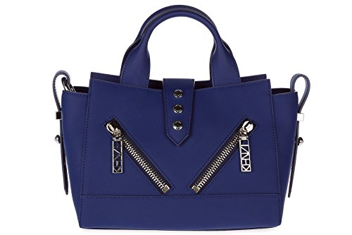 Kenzo Handbag To Buy New Blu Leather Woman