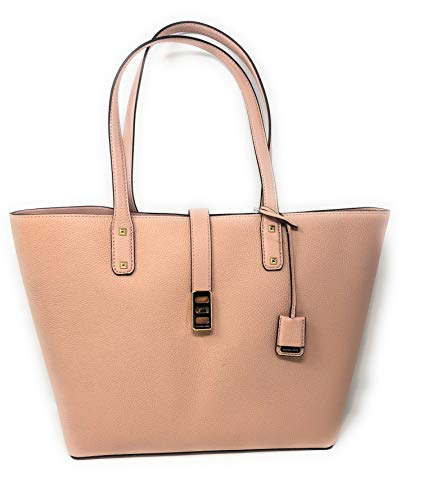 (Michael Kors Karson Large Carryall Leather Tote Bag Pastel Pink )