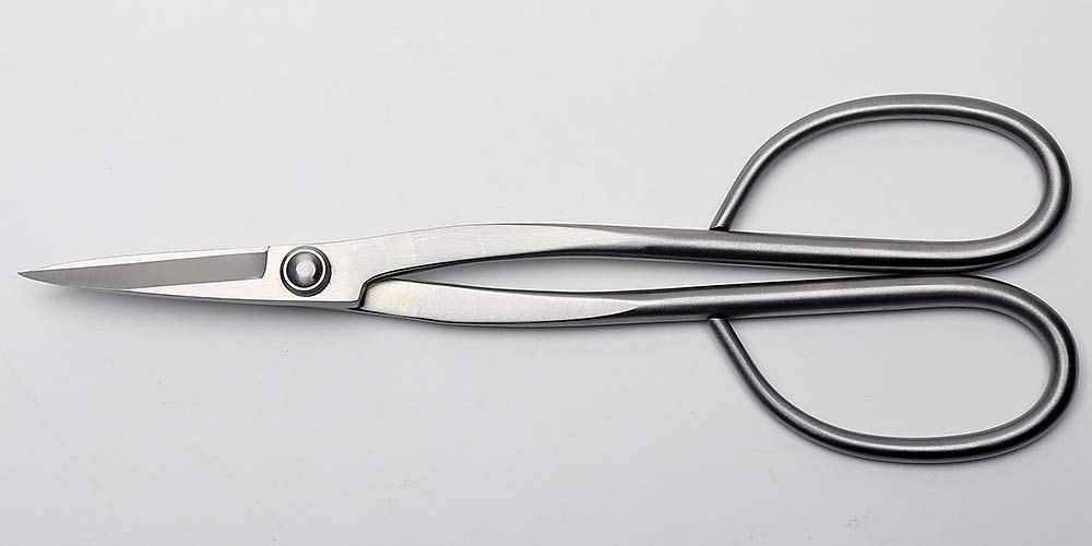 Beginner Bonsai Tools Long Handle Scissors 210 Mm (8'') Stainless Steel Standard Quality For Beginner Bonsai Peoples