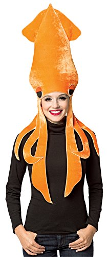 UHC Women's Squid Hat Headpiece Funny Theme Party Halloween Costume Accessory