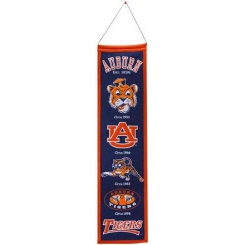 Auburn Tigers Logo Evolution Heritage Banner