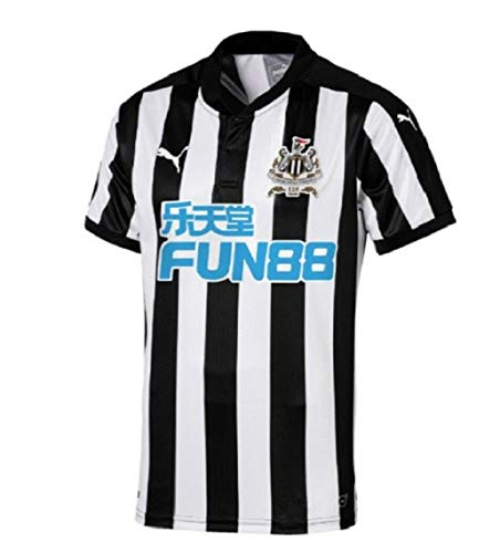 PUMA 2017-2018 Newcastle Home Football Soccer T-Shirt Jersey