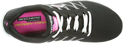 Skechers Flex AppealSomething Fun - Zapatillas para mujer Bkw