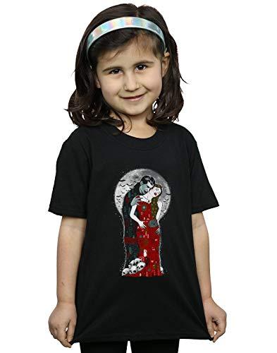 Vincent Trinidad Girls Vampire's Kiss T-Shirt Black 12-13 Years
