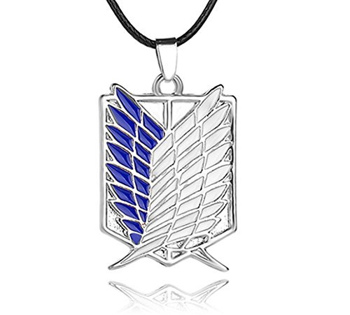 Greed Land Attack Tian Collection Wings Pendant Necklace Keychains -